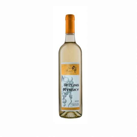 víno Rizling Rýnsky suché ročník 2020