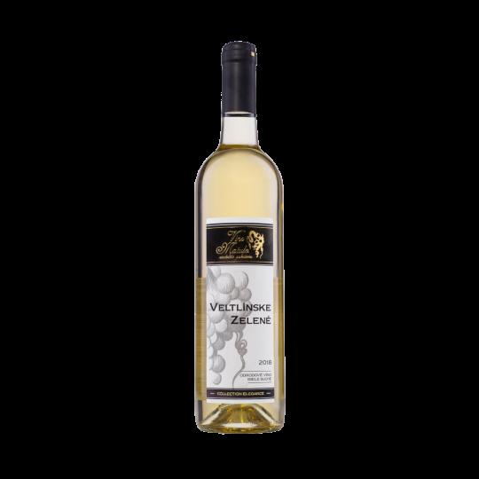 Veltlínske Zelené, Veltlínske Zelené 2018, víno, biele víno, suché biele víno, víno k mäsu, víno k rybám, víno k teľaciemu, víno k jahňaciemu, kvalitné víno, dobré víno, svätojurské víno, prírodné víno, naturálne víno, eko pestovanie, bio pestovanie, slovenské víno, víno zo Slovenska, wine, Slovak wine, white wine